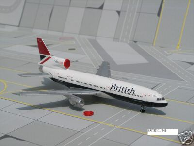 Blue Box 1:400 diecast airplanes